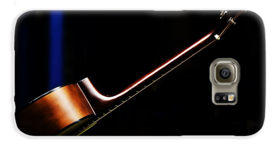 Guitar Galaxy S6 Case featuring the photograph Guitar by Sheila Smart Fine Art Photography