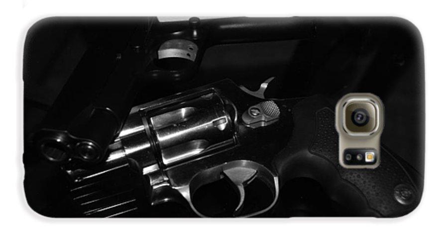 Guns Galaxy S6 Case featuring the photograph Guns And More Guns by Rob Hans
