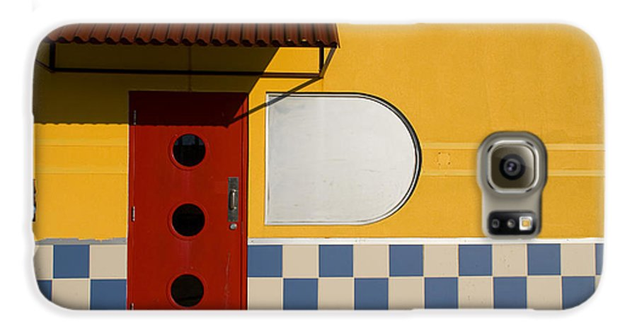 Architecture Galaxy S6 Case featuring the photograph Happy Days by Skip Hunt