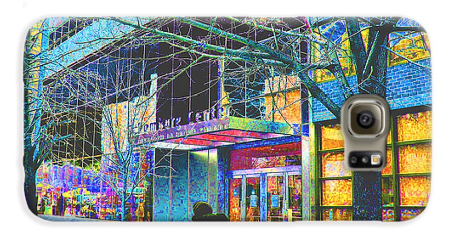 Harlem Galaxy S6 Case featuring the photograph Harlem Street Scene by Steven Huszar