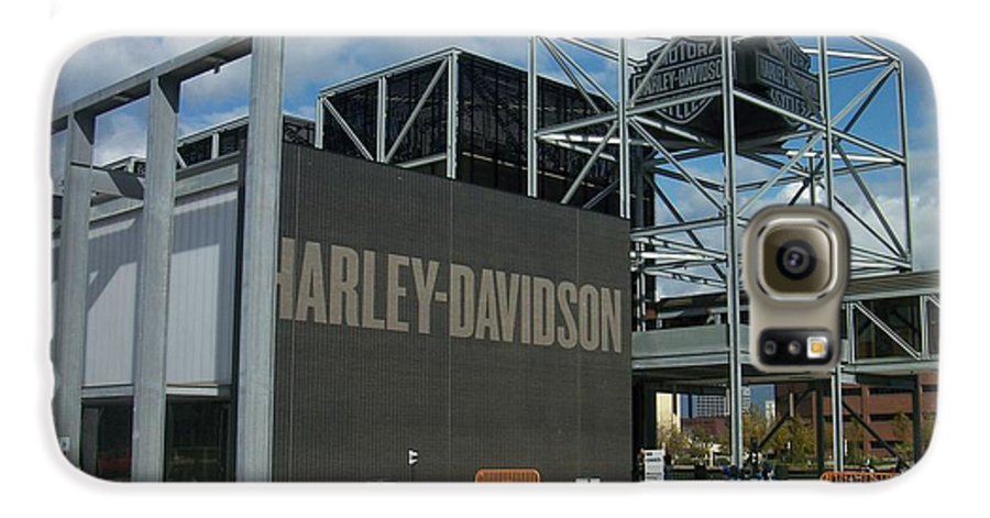 Galaxy S6 Case featuring the photograph Harley Museum by Anita Burgermeister