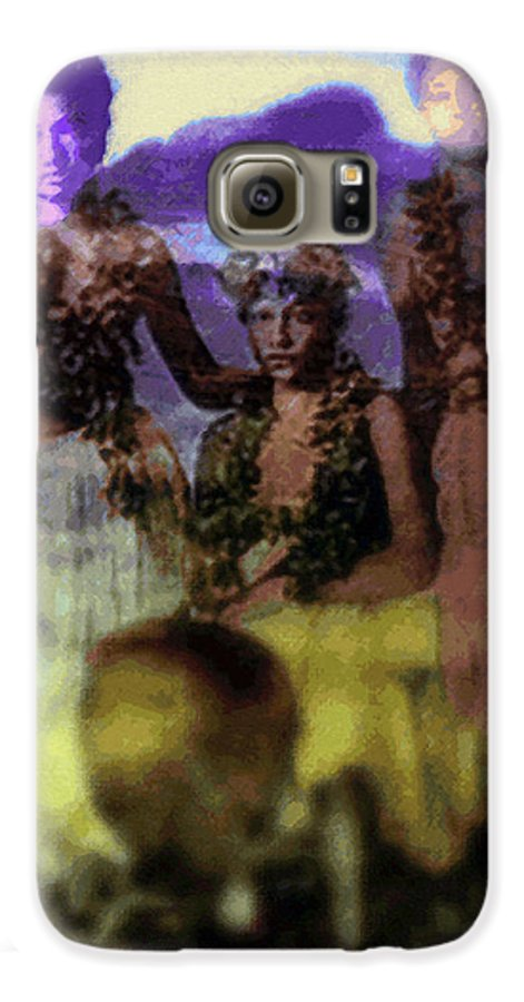 Tropical Interior Design Galaxy S6 Case featuring the photograph He Hohona Aeoia by Kenneth Grzesik