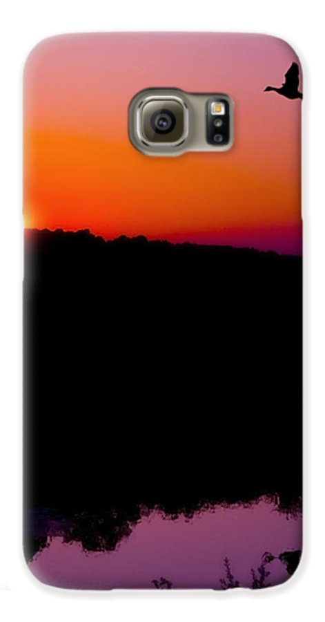 Sunset Galaxy S6 Case featuring the photograph Heading Home by Kenneth Krolikowski