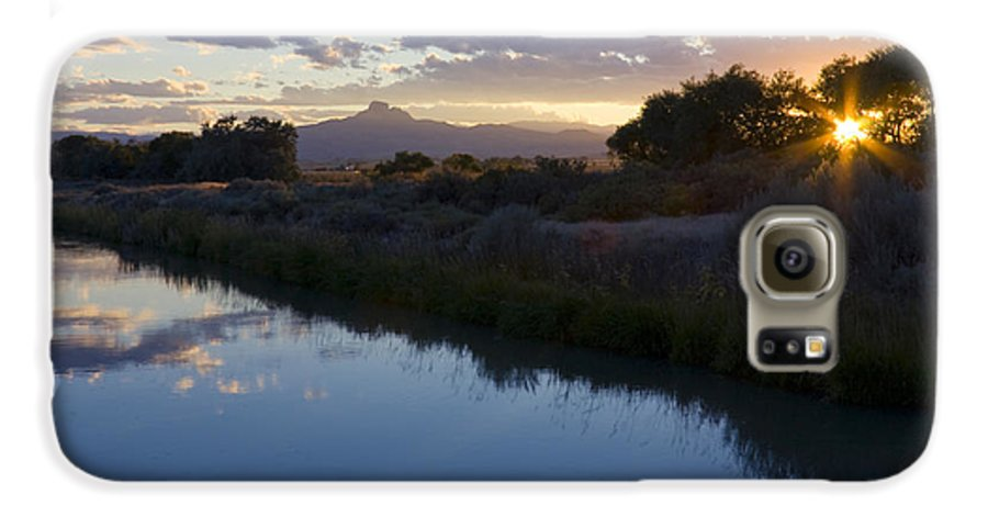 Heart Mountain Galaxy S6 Case featuring the photograph Heart Mountain by Idaho Scenic Images Linda Lantzy