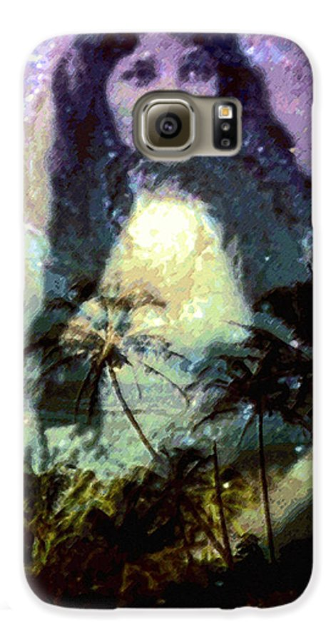 Tropical Interior Design Galaxy S6 Case featuring the photograph Ho Omana O by Kenneth Grzesik