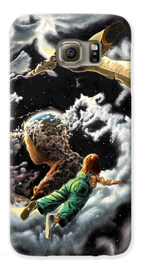 Fantasy Galaxy S6 Case featuring the painting Homecoming by Dave Martsolf