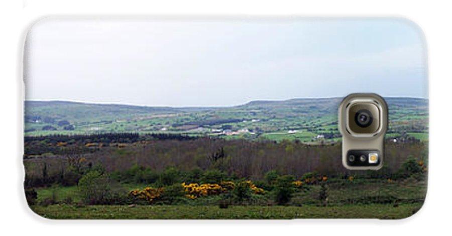Ireland Galaxy S6 Case featuring the photograph Horses At Lough Arrow County Sligo Ireland by Teresa Mucha