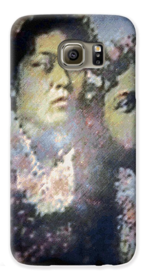 Tropical Interior Design Galaxy S6 Case featuring the photograph Hula Kaika Ma Hine by Kenneth Grzesik