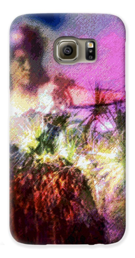 Tropical Interior Design Galaxy S6 Case featuring the photograph Hula Mai Oe by Kenneth Grzesik