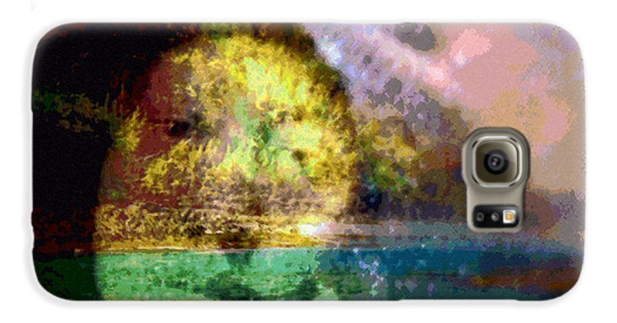 Tropical Interior Design Galaxy S6 Case featuring the photograph I Ini O Ka Naau by Kenneth Grzesik