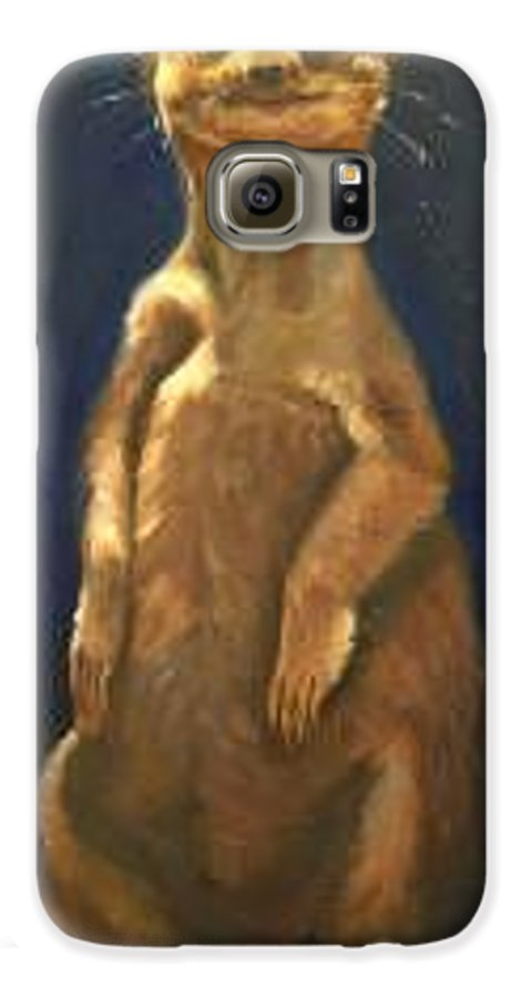 For Availability And Prices Of Limited Edition Prints/giclees Galaxy S6 Case featuring the painting I See You by Greg Neal