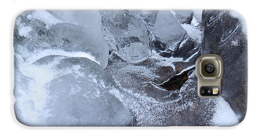 Snow Galaxy S6 Case featuring the photograph Icy Creek Forms In Pocono Mountains by Anna Lisa Yoder