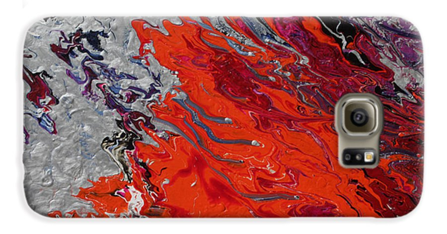Fusionart Galaxy S6 Case featuring the painting Ignition by Ralph White