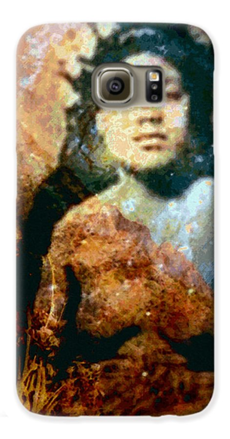Tropical Interior Design Galaxy S6 Case featuring the photograph Ike Papalua by Kenneth Grzesik