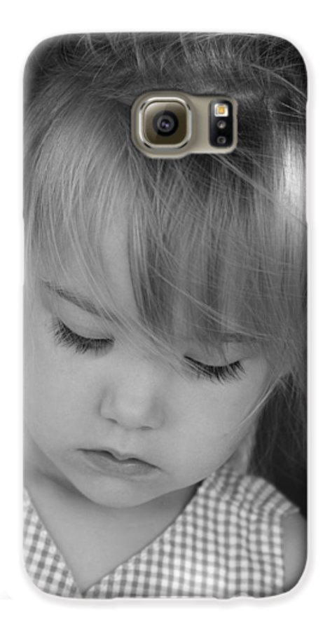 Angelic Galaxy S6 Case featuring the photograph Innocence by Margie Wildblood