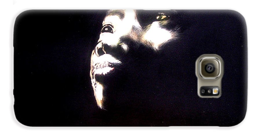 Galaxy S6 Case featuring the mixed media Inspired by Chester Elmore