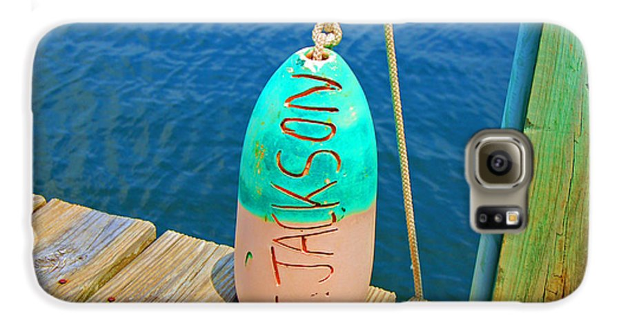 Water Galaxy S6 Case featuring the photograph Its A Buoy by Debbi Granruth