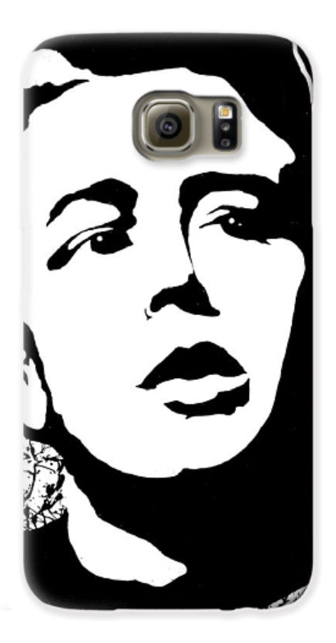 James Dean Galaxy S6 Case featuring the painting James Dean by Curtiss Shaffer