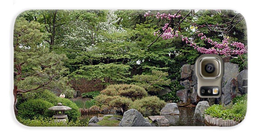 Japanese Garden Galaxy S6 Case featuring the photograph Japanese Garden II by Kathy Schumann