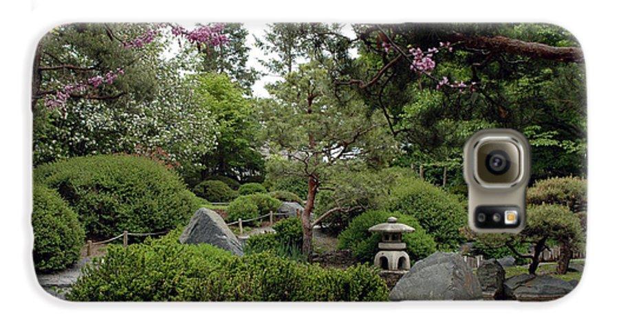 Japanese Garden Galaxy S6 Case featuring the photograph Japanese Garden IIi by Kathy Schumann