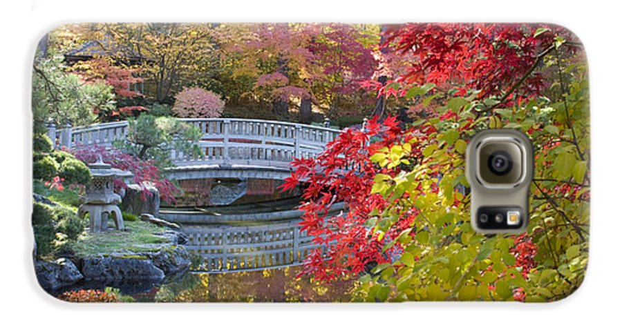 Gardens Galaxy S6 Case featuring the photograph Japanese Gardens by Idaho Scenic Images Linda Lantzy