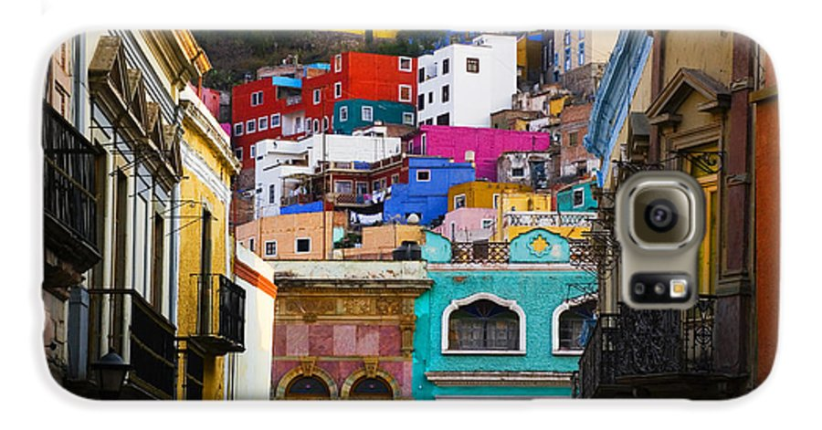 Architecture Galaxy S6 Case featuring the photograph Juegos In Guanajuato by Skip Hunt
