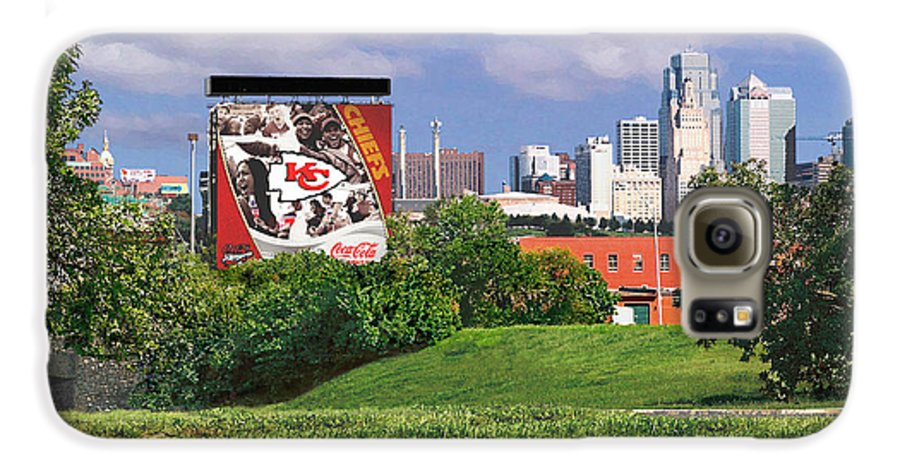 Landscape Galaxy S6 Case featuring the photograph Kansas City Sky Line by Steve Karol