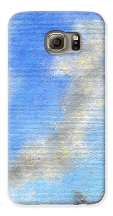 Coastal Decor Galaxy S6 Case featuring the painting Kauapea Evening by Kenneth Grzesik