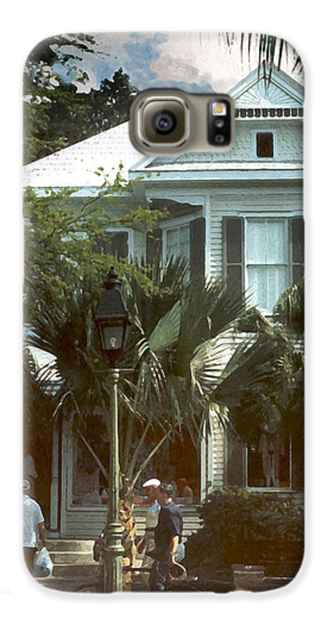 Historic Galaxy S6 Case featuring the photograph Keywest by Steve Karol