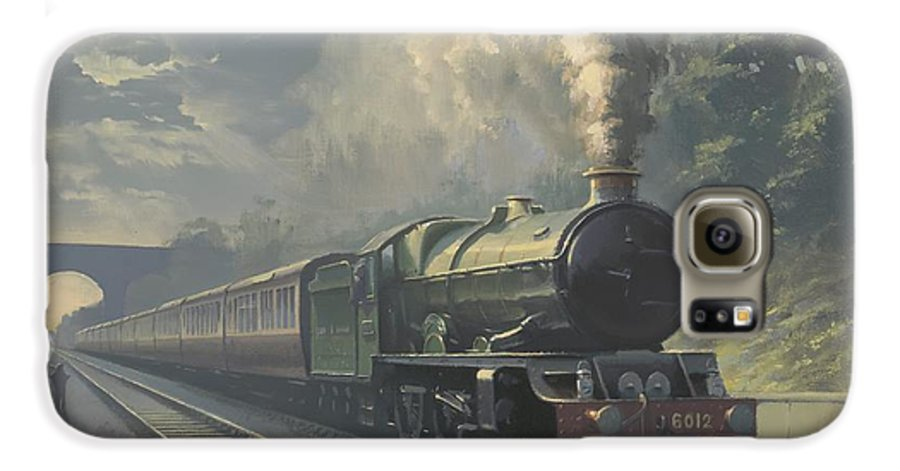 Steam Galaxy S6 Case featuring the painting King Edward Vi by Richard Picton