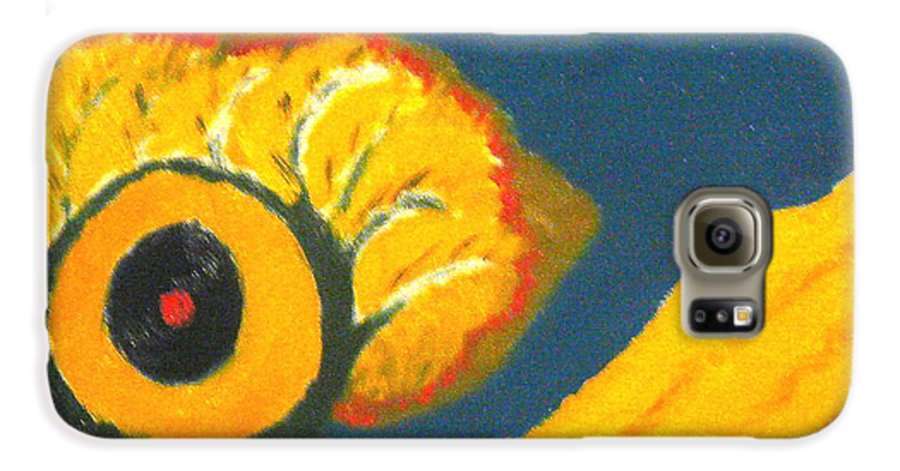 Galaxy S6 Case featuring the painting Krshna by R B