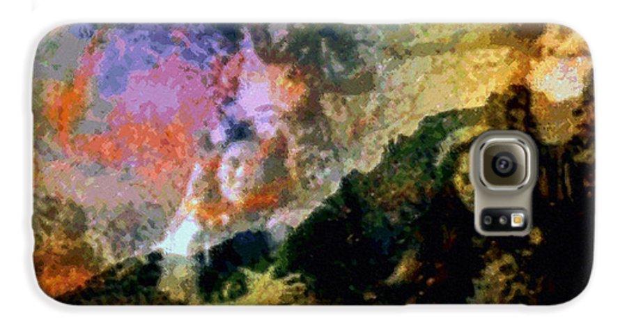 Rainbow Colors Digital Galaxy S6 Case featuring the photograph Kupua Hula by Kenneth Grzesik