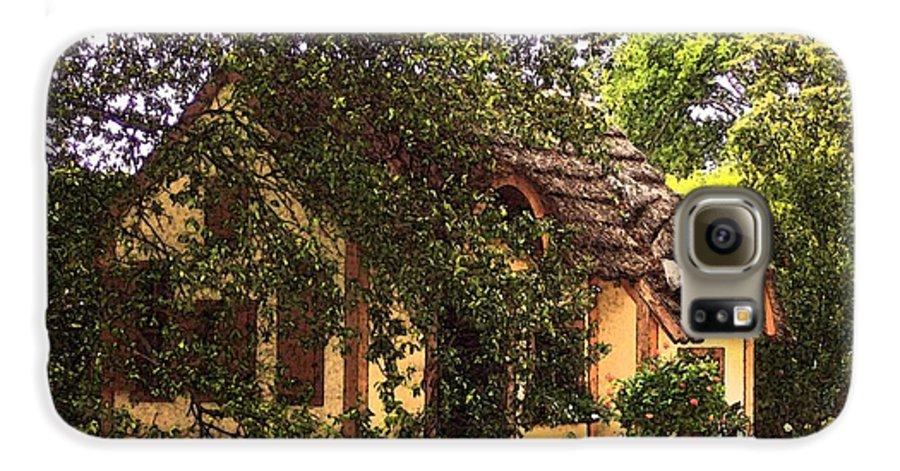 Cottage Galaxy S6 Case featuring the photograph La Maison by Debbi Granruth