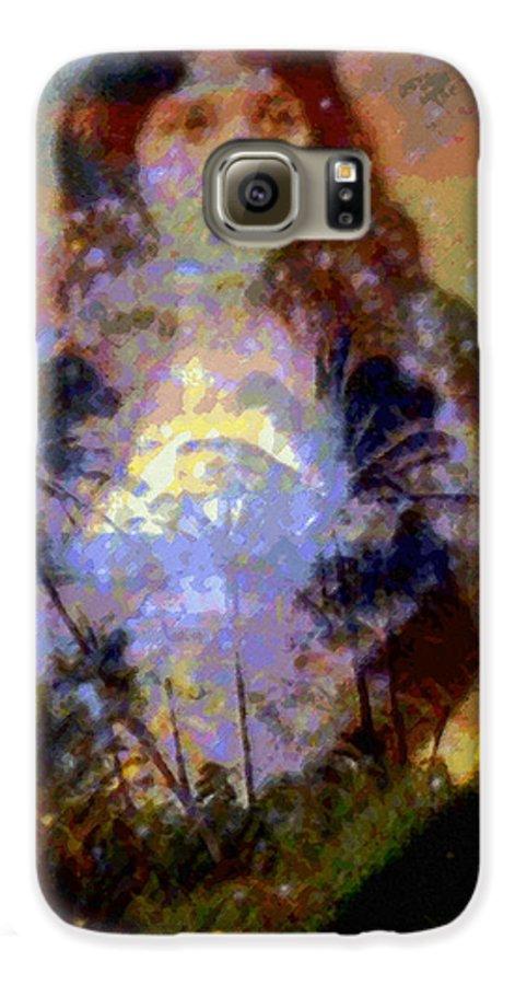 Rainbow Colors Digital Galaxy S6 Case featuring the photograph Laka Hula Akua by Kenneth Grzesik