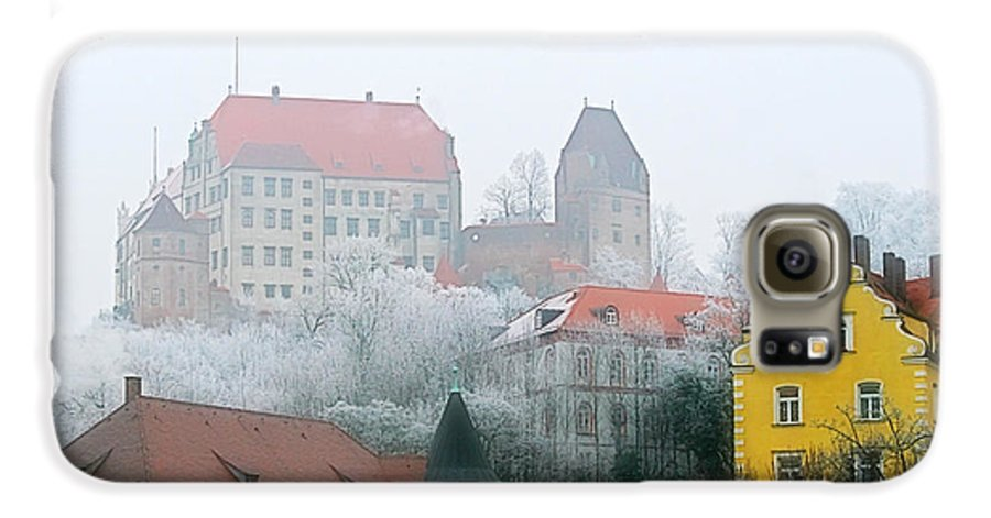 City Galaxy S6 Case featuring the photograph Landshut Bavaria On A Foggy Day by Christine Till