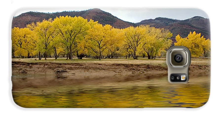 River Galaxy S6 Case featuring the photograph Las Animas Fall by Jerry McElroy