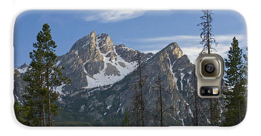 Majestic Galaxy S6 Case featuring the photograph Last Light On Mcgowan by Idaho Scenic Images Linda Lantzy