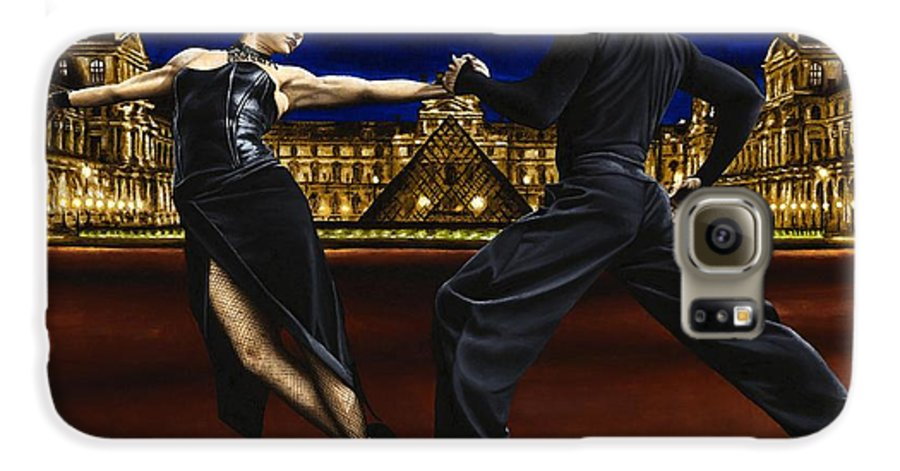 Tango Galaxy S6 Case featuring the painting Last Tango In Paris by Richard Young