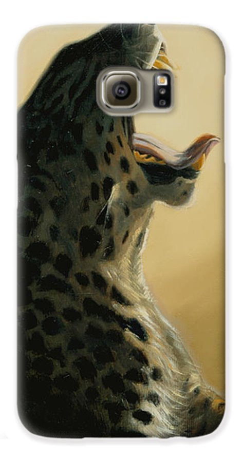 Painting Galaxy S6 Case featuring the painting Lazy Days by Greg Neal