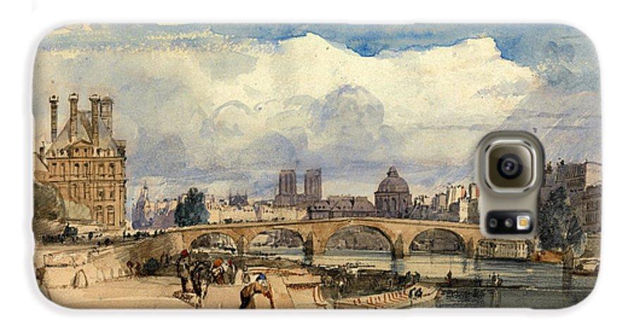 Le Pont Royal Paris Galaxy S6 Case