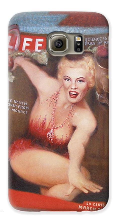 Realism Galaxy S6 Case featuring the painting Life In The Fifties by Donelli DiMaria