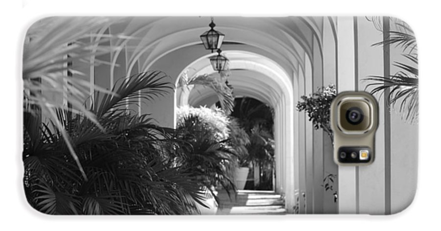 Architecture Galaxy S6 Case featuring the photograph Lighted Arches by Rob Hans