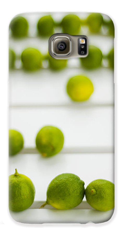 Green Galaxy S6 Case featuring the photograph Lime Green by Skip Hunt