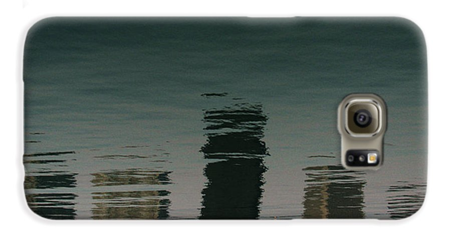 Lake Galaxy S6 Case featuring the photograph Lonely Soul by Dana DiPasquale