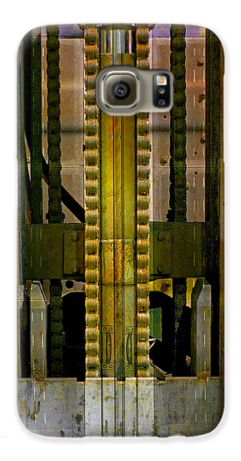 Texture Galaxy S6 Case featuring the photograph Machina by Skip Hunt