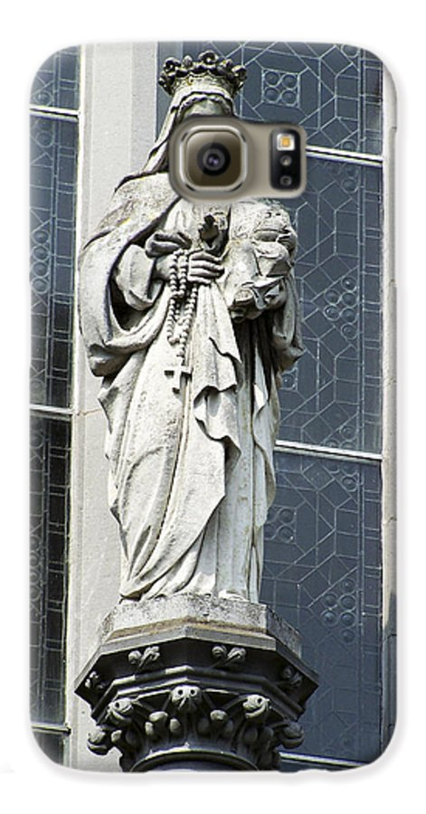 Ireland Galaxy S6 Case featuring the photograph Madonna And Child by Teresa Mucha