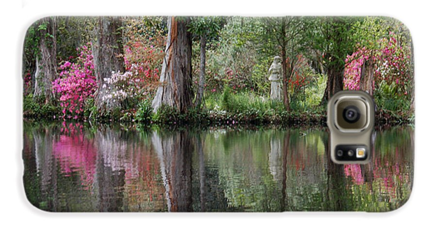 Magnolia Plantation Galaxy S6 Case featuring the photograph Magnolia Plantation Gardens Series Iv by Suzanne Gaff
