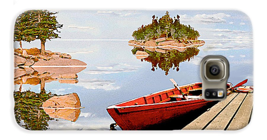 Maine Galaxy S6 Case featuring the photograph Maine-tage by Peter J Sucy