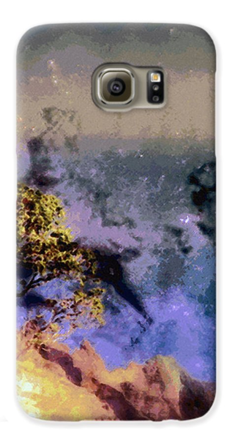 Rainbow Colors Digital Galaxy S6 Case featuring the photograph Manahuna by Kenneth Grzesik