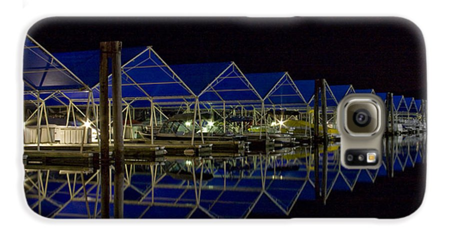 Marina Galaxy S6 Case featuring the photograph Marina Reflected by Idaho Scenic Images Linda Lantzy